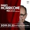 Ennio Morricone koncert 2019-ben Budapesten a Papp László Sportarénában - Jegyek itt!