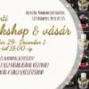Fehér-szőrmés adventi koszorúval is vár a Karácsonyi workshop és vásár!