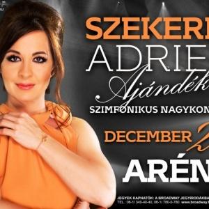 Szekeres Adrien Ajándék koncert 2015-ben az Arénában - Jegyvásárlás itt!