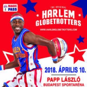 Kosárlabda akrobaták Budapesten! Jön a Harlem Globetrotters kosárlabda show 2018-ban is! Jegyek itt!