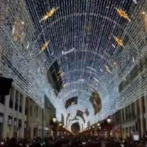 Látványos Karácsonyi Fényshow  - Videó itt!
