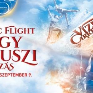 Vízi cirkuszi show a Fővárosi Nagycirkusz 2018-as nyári műsorán - Jegyek itt!