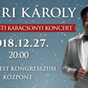 Nyári Károly karácsonyi koncert 2018-ban a Budapesti Kongresszusi Központban - Jegyek itt!