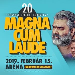 Magna Cum Laude Aréna koncert 2019 - Jegyek itt!