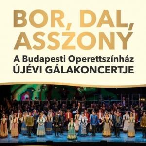 Újévi Operett és Musical Gála 2019-ben Sopronban a Novomatic Arénában - Jegyek itt!