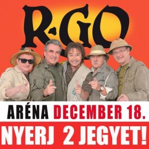 R-GO 35 éves jubileumi koncert az Arénában! NYERJ 2 JEGYET!