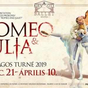 Rómeó és Júlia balett a Kijevi Balett 2019-es turnéja Magyarországon - Jegyek és helyszínek itt!
