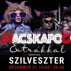 Szilveszteri Macskafogó előadás a József Attila Színházban - Jegyek itt!
