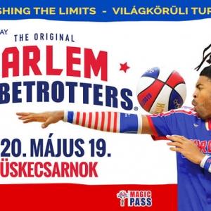 Kosárlabda zsonglőrök újra Budapesten! Jegyek a Harlem Globetrotters 2020-as budapesti előadására!